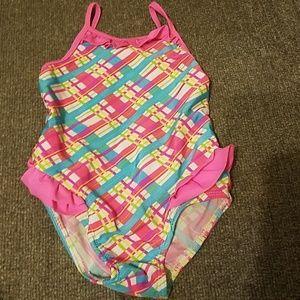 Girls Keyhole Swimsuit